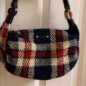 Kate Spade Hobo Tweed Wool Plaid Bag
